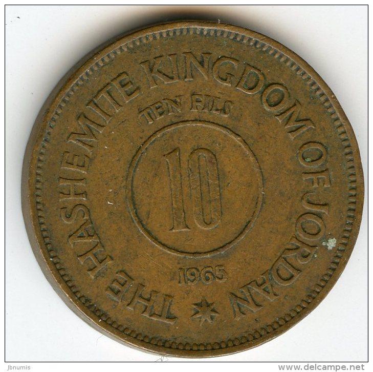 Jordanie Jordan 10 Fils 1385 - 1965 KM 10 - Jordanie