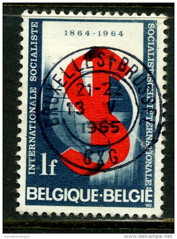Belgique COB 1291 ° Bruxelles - Belgique