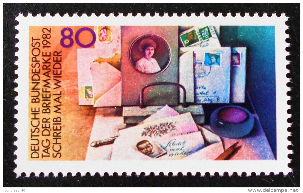 JOURNEE DU TIMBRE 1982 - NEUF ** - YT 986 - MI 1154 - [7] Repubblica Federale