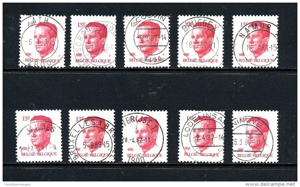 Belgique Velghe Sélection  2203 ° - 1981-1990 Velghe
