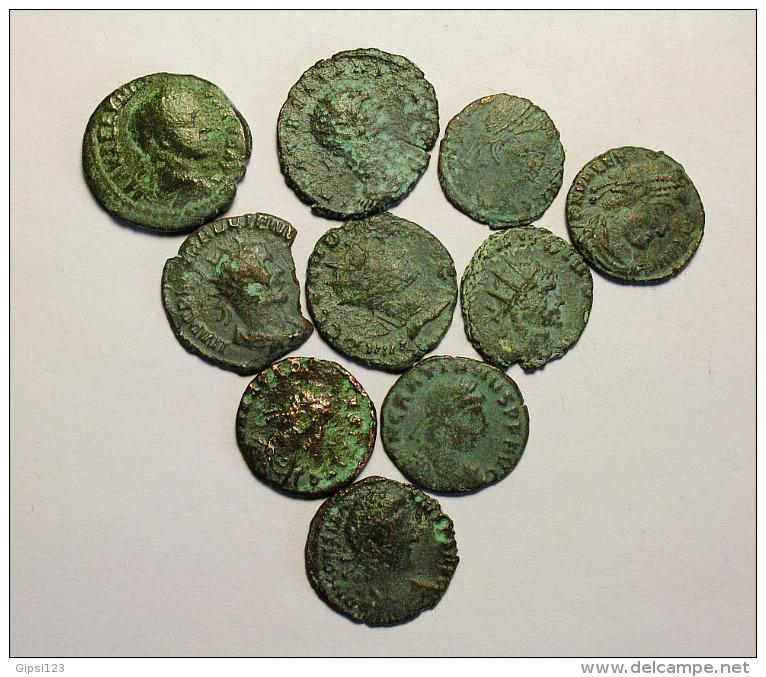 Lotto 10 Monete Romane Imperiali - 1. The Julio-Claudians (27 BC To 69 AD)
