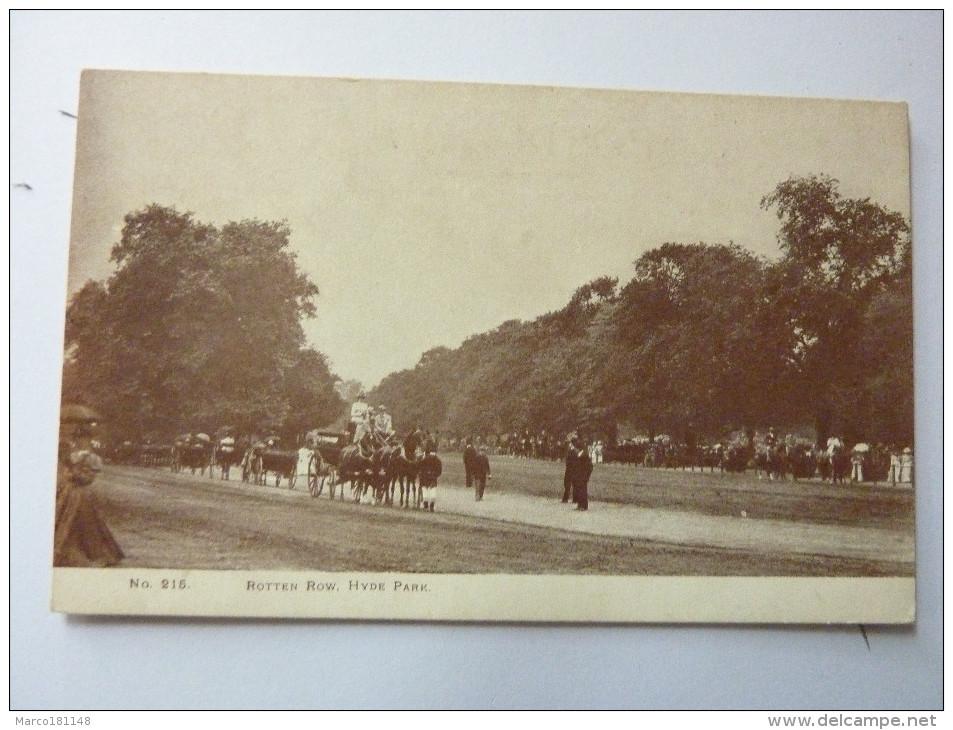 Rotten Row - Hyde Park - London