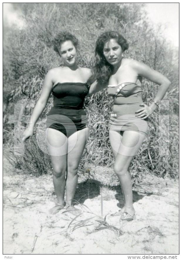 Pin-ups - 50s ORIGINAL AMATEUR PHOTO GIRL WOMAN BEACH PORTUGAL ...