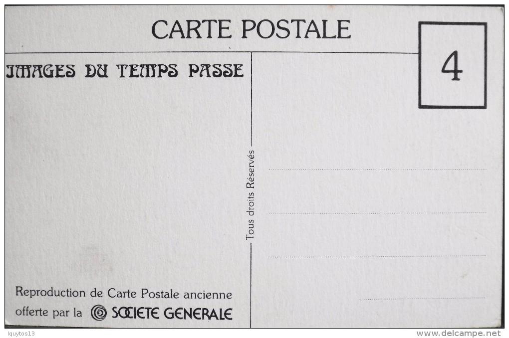 CP.- Repro. - Images Du Temps Passé - PARIS - N° 118 - La Grande Roue - CP Offerte Par Sté Générale - TBE - - Distretto: 15