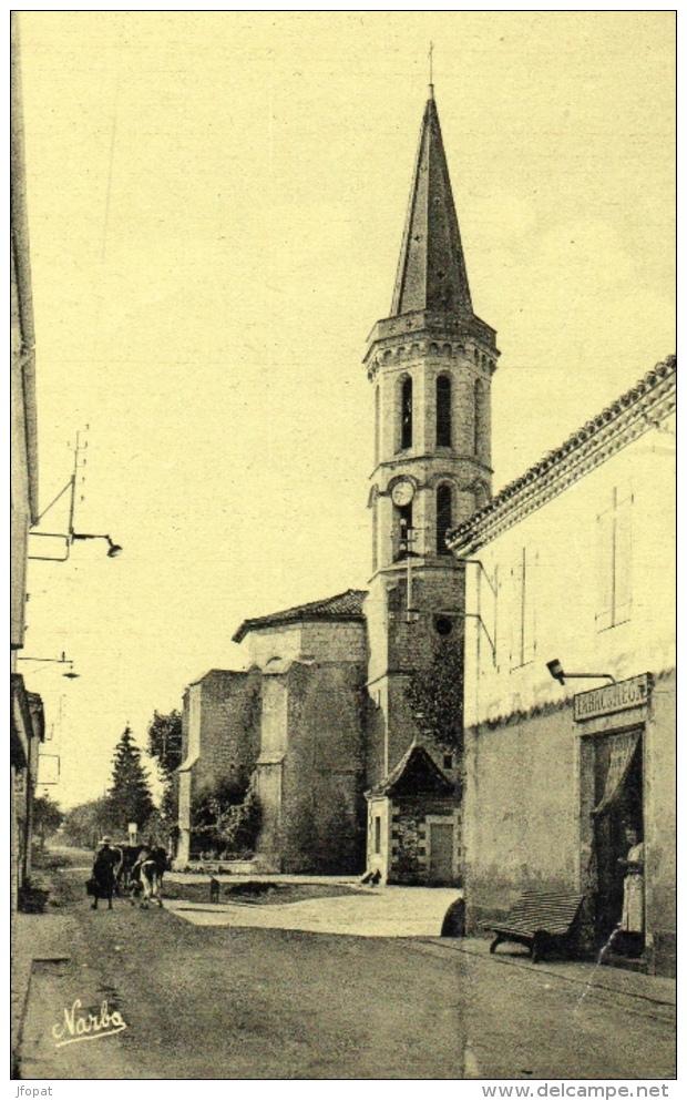 32 GERS - SOLOMIAC Avenue De Mauvezin, L'Eglise - Autres Communes