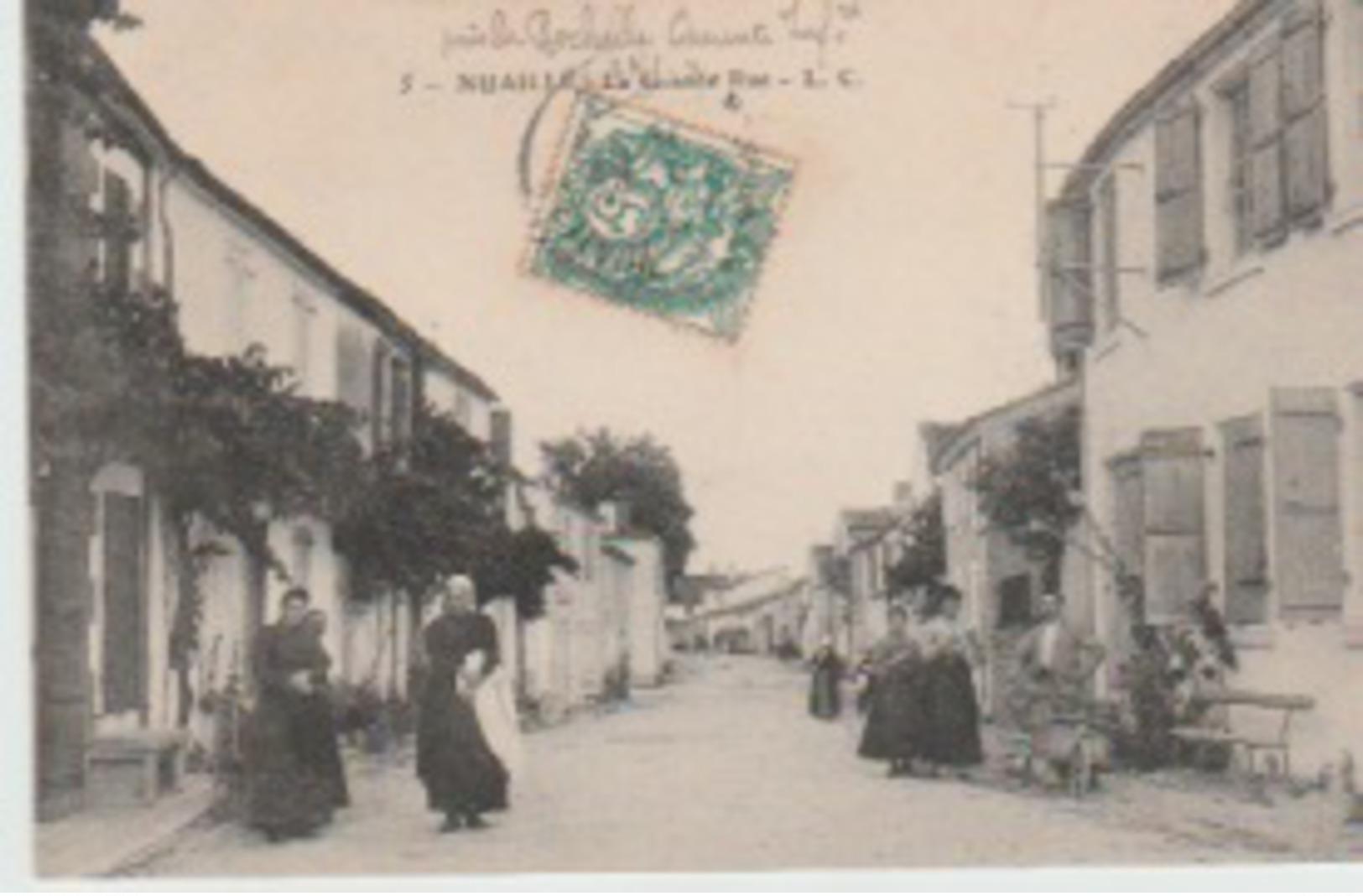 NUAILLÉ    -   LA  GRANDE  RUE - Andere Gemeenten