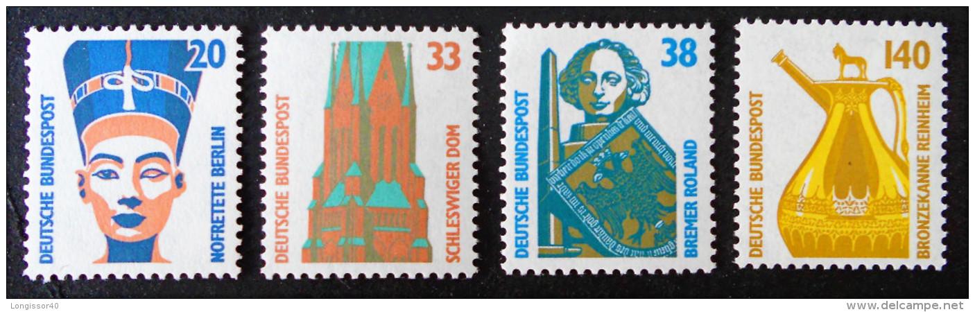 CURIOSITES 1989 - NEUFS ** - YT 1230/33 - MI 1398/01 - [7] République Fédérale