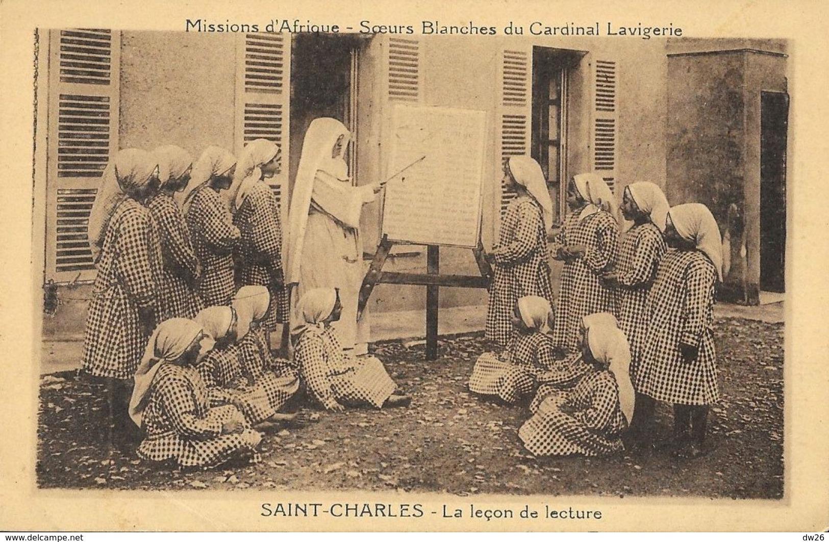 Missions D'Afrique - Soeurs Blanches Du Cardinal Lavigerie - Saint-Charles: La Leçon De Lecture - Missions