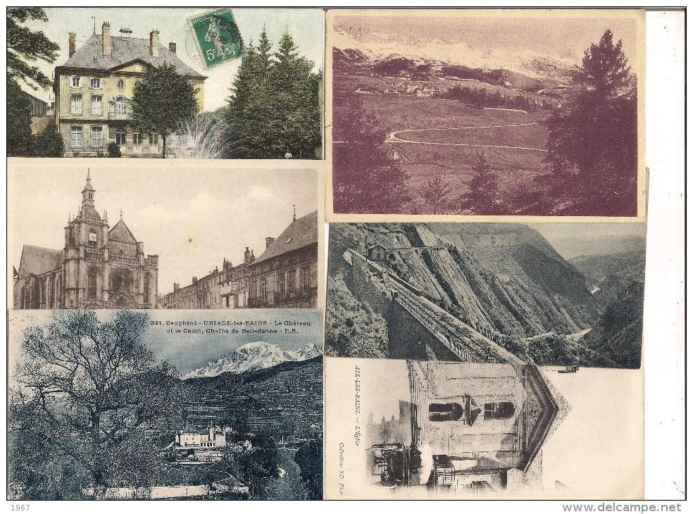 Lot De 18 CPA - France - Départements 33 34 38 55 66 73 77 78 - Cartoline