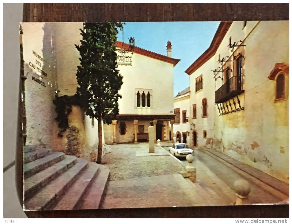 SITGES - PLAYA DE ORO - 152 - EL APACIBLE RINCON Y LOS MUSEOS - ESPANA ESPAGNE - Barcelona