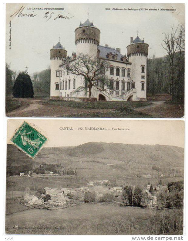 MARMANHAC - Vue Générale - Chateau De Sedaiges (88653) - Frankrijk