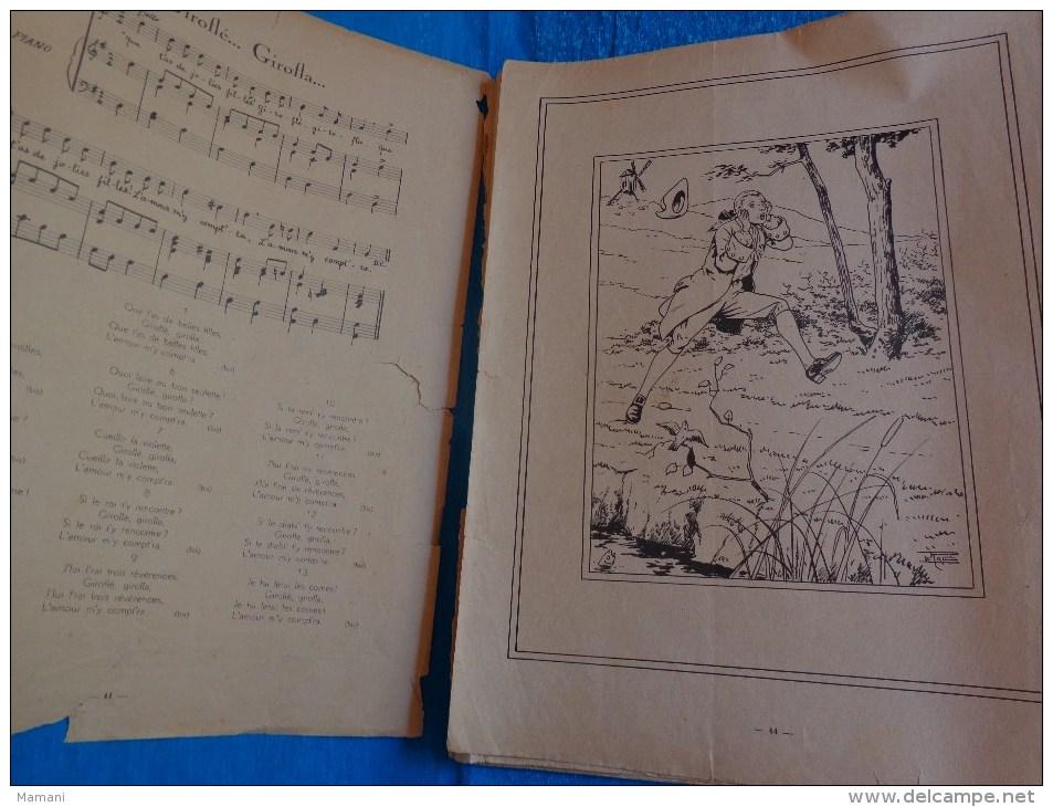 Belles Illustrations-le Rallic -la Danse Des Gorets-cadet Rousselle-j´ai Du Bon Tabac Etc.... - Livres Pour Enfants