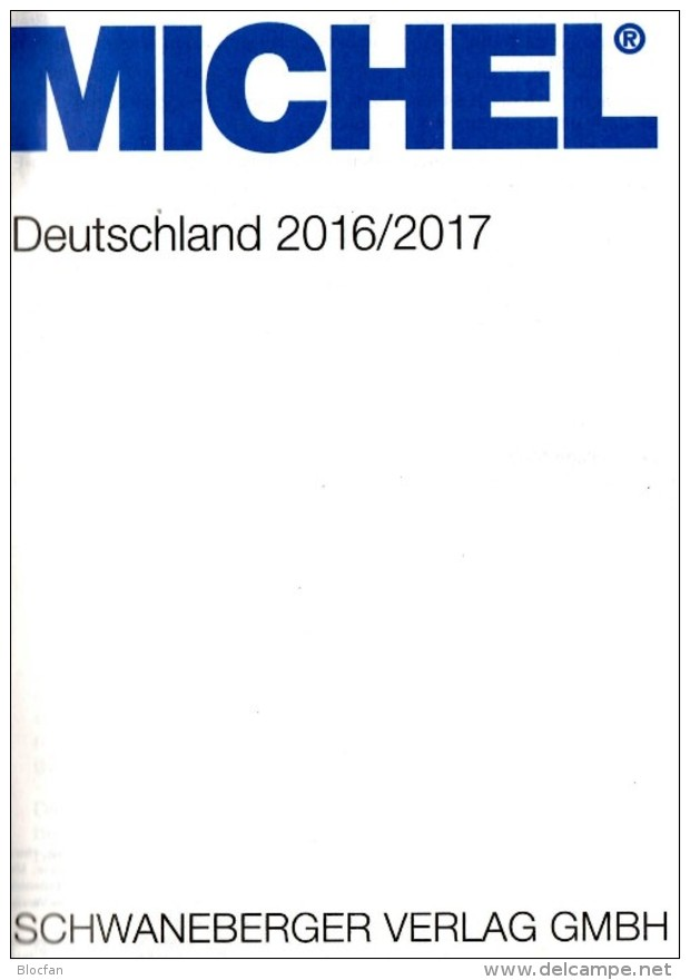 MICHEL Deutschland Briefmarken 2016/2017 New 55€ D: AD Baden Bayern DR 3.Reich Danzig Saar SBZ DDR Berlin FZ AM-Post BRD - Miniaturen