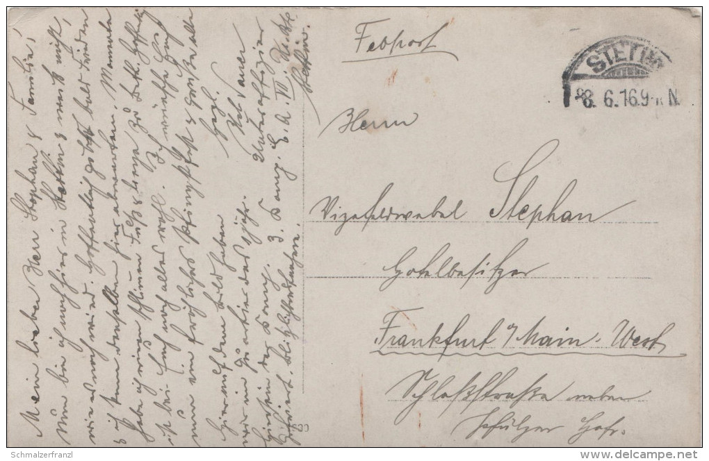 AK Militär Militaire Kompanie Division Offiziere Unteroffizier Stettin Szczecin 1. Weltkrieg Krieg Guerre Mondial - Personaggi