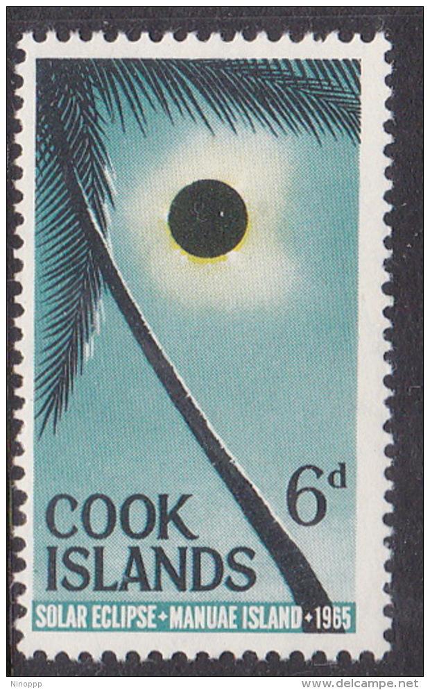 Cook Islands  SG 174  1965 Solar Eclipse MNH - Cook Islands