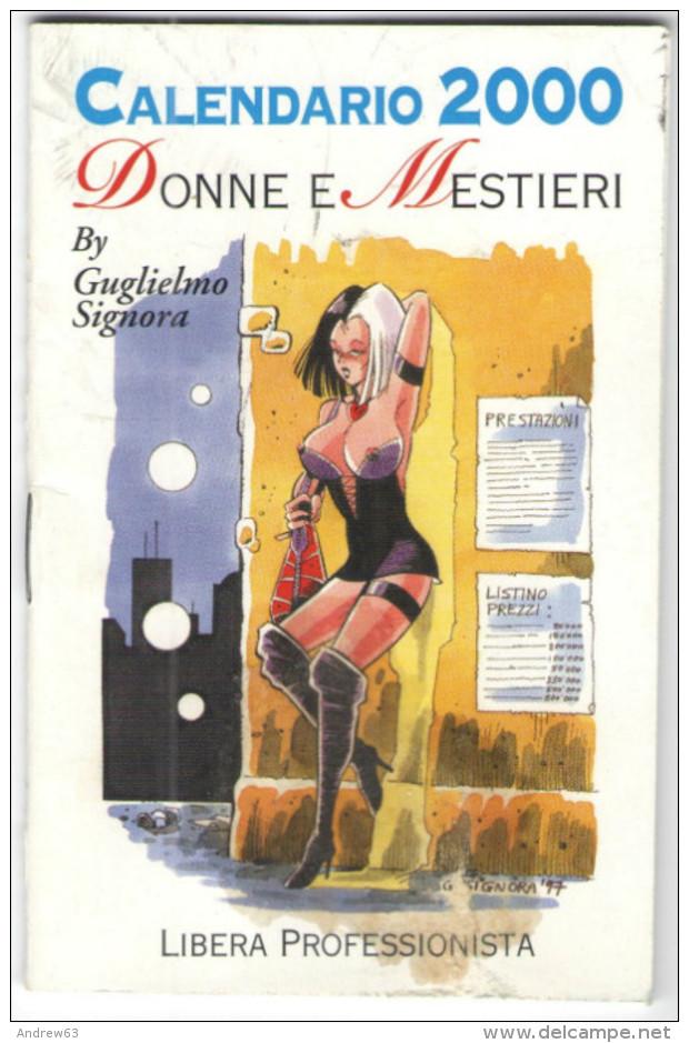 CALENDARIO - 2000 - Donne E Mestieri - By Guglielmo Signora - Sexy Umoristico - Calendari