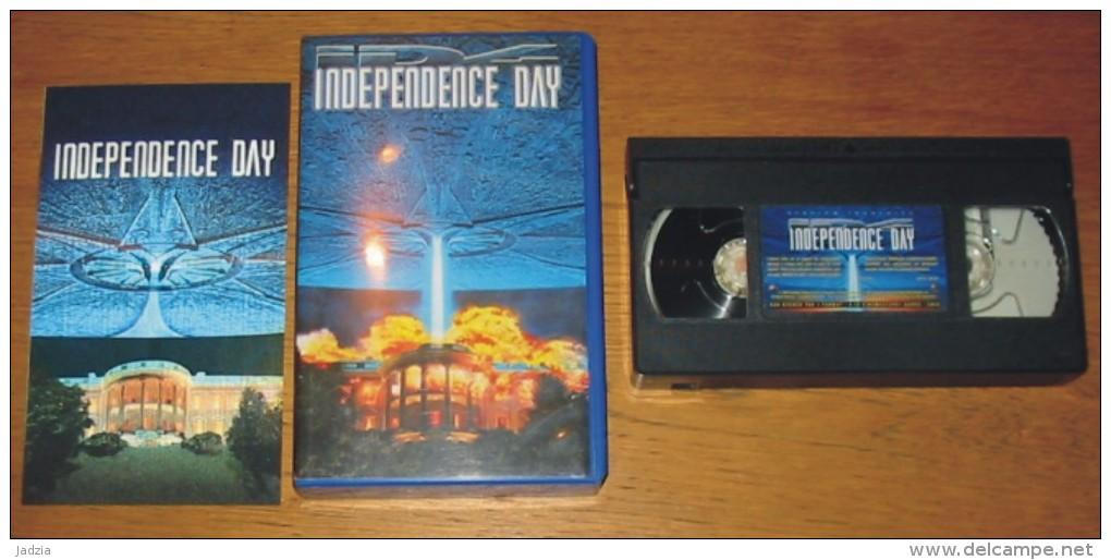 Cassette Vidéo Independence Day + 1 Image Qui Bouge - Ciencia Ficción Y Fantasía