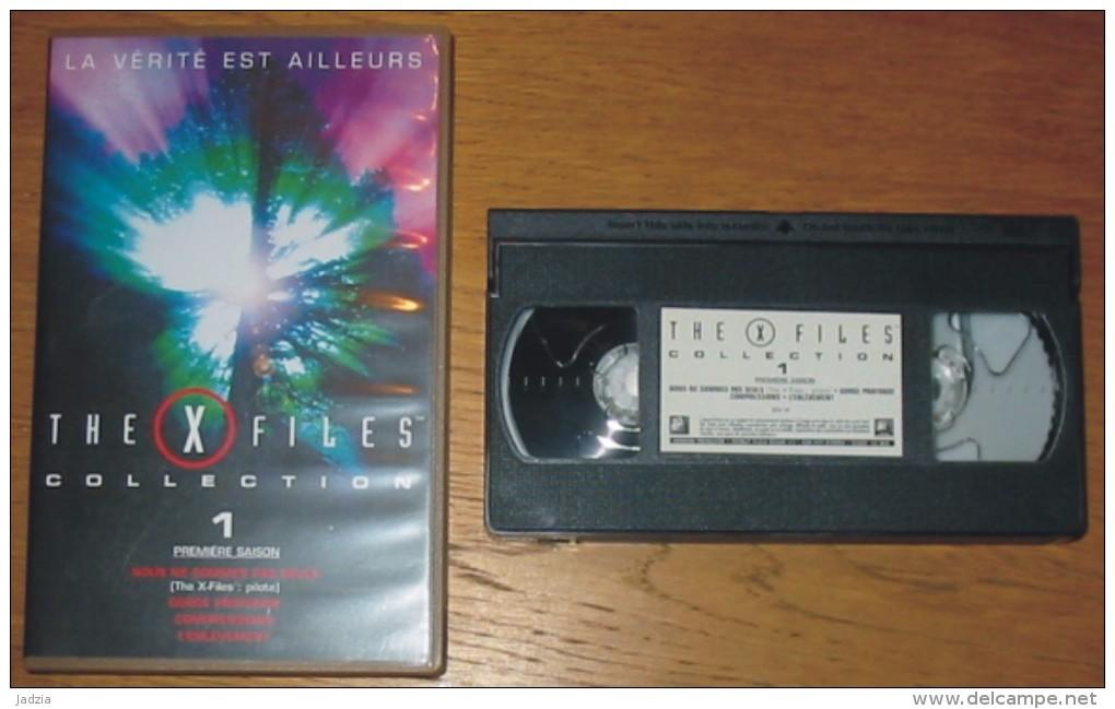 Cassette Vidéo The X Files Collection Saison 1  : 4 épisodes - Ciencia Ficción Y Fantasía