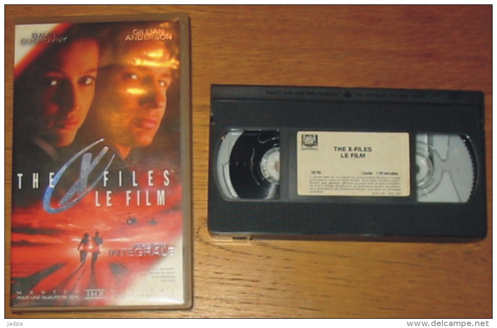 Cassette Vidéo The X Files Le Film - Ciencia Ficción Y Fantasía
