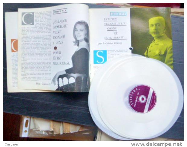 SONORAMA  JEANNE MOREAU GARY COOPER FESTIVAL DE  CANNES   BIEN COMPLET DES DISQUES  N° 31 1961 TBE - Vinyl Records