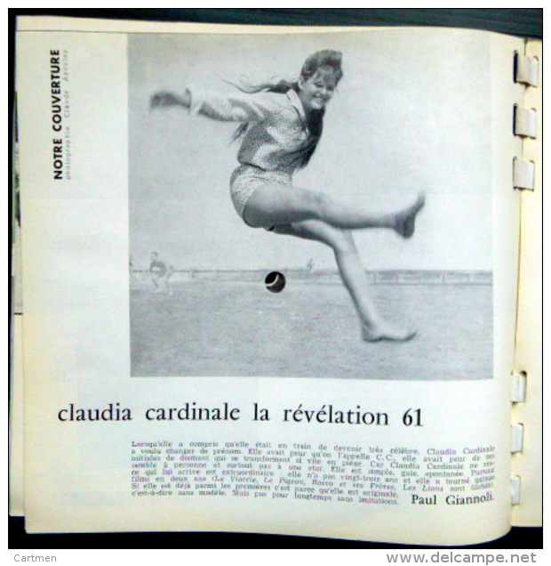 SONORAMA  CLAUDIA CARDINALE RAY CHARLES    BIEN COMPLET DES DISQUES  N° 32 1961 TBE - Unclassified