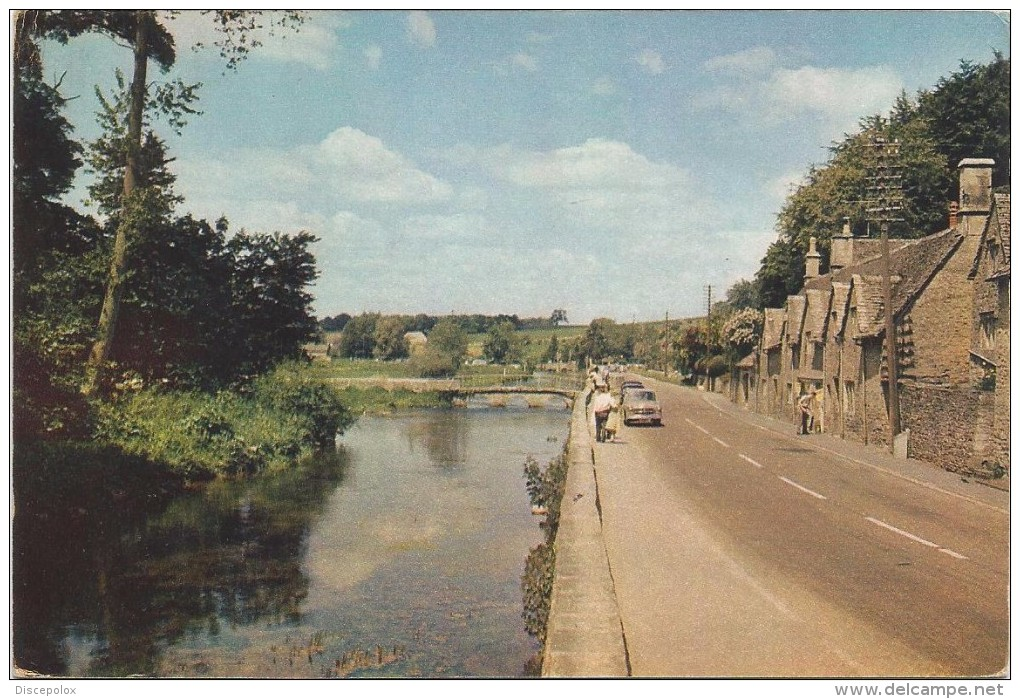 R758 Bibury - The Valley Of The Colne - Cottages Of Arlington Row / Non Viaggiata - Inghilterra