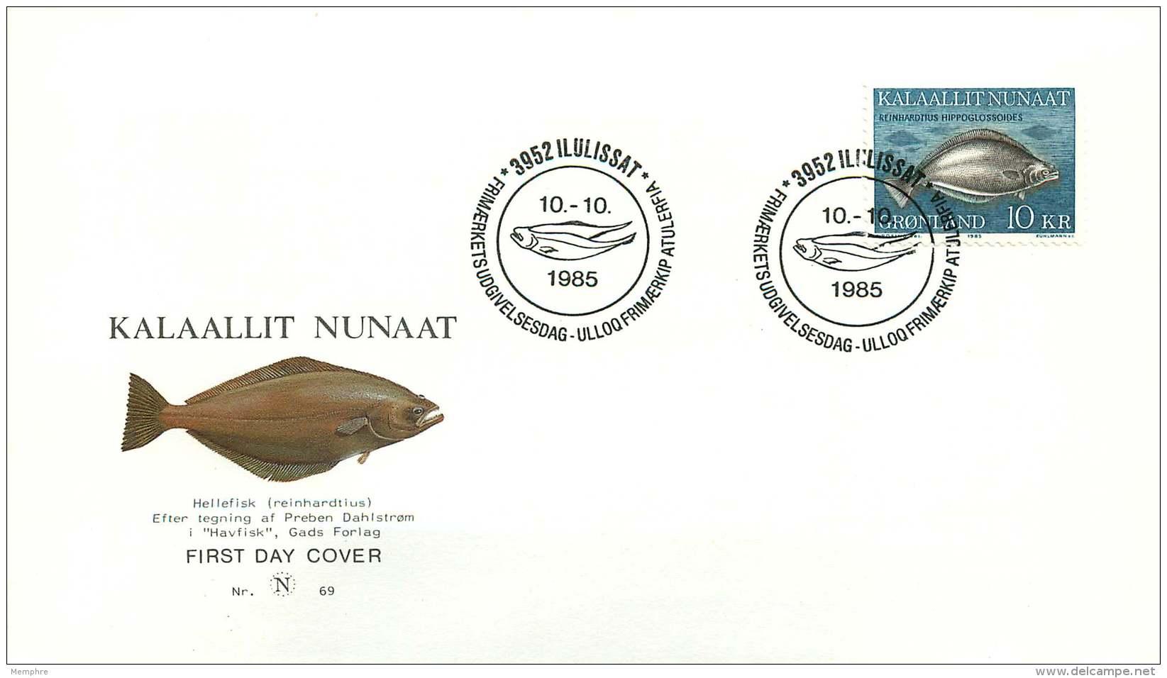 1985   Sole Fish  MiNr 162 - FDC