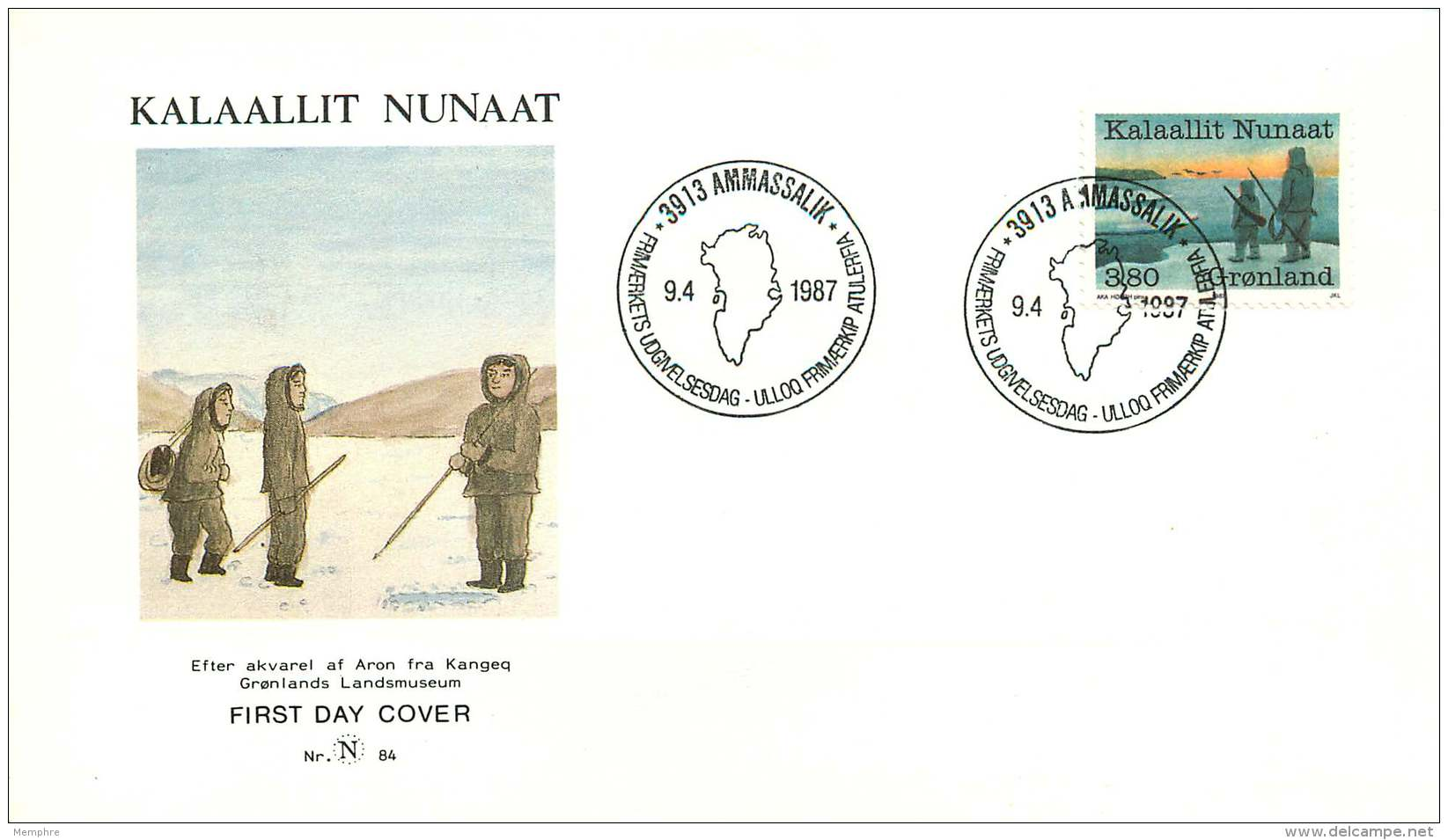 1987  Year Of The Fishing, Sealing And Whaling Industries MiNr 173 - FDC