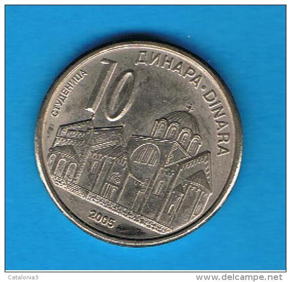 SERBIA -  10 Dinara 2005 - Serbia