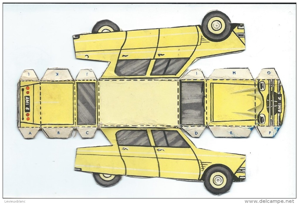 Découpage/ Citroën / Ami 6/ Vers 1960 -65     DEC39 - Autres