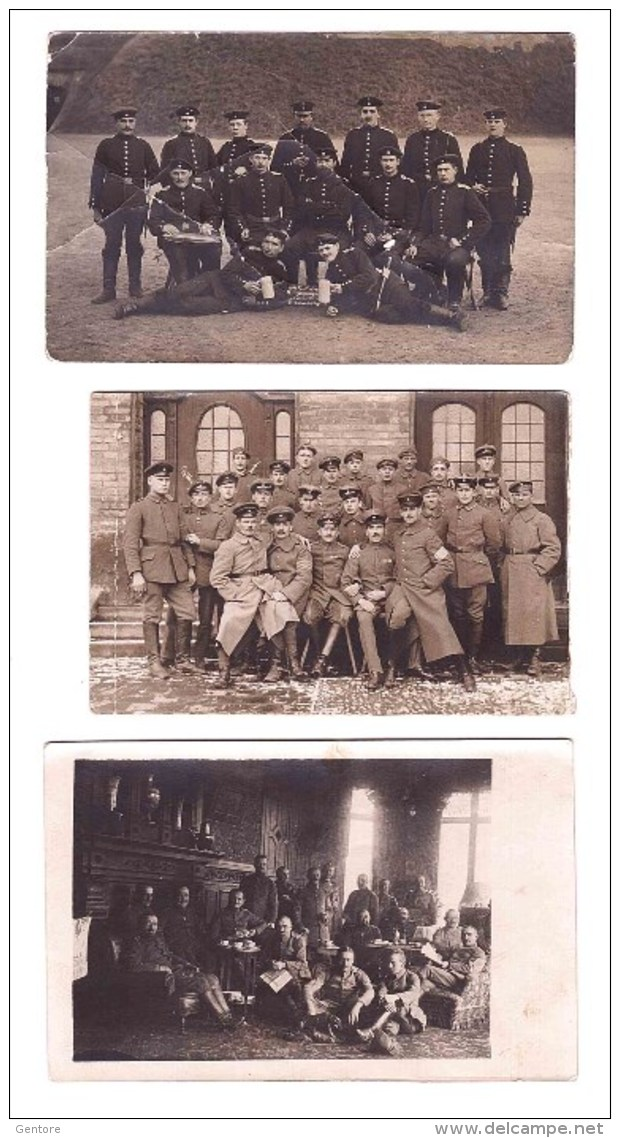 3 ORIGINAL PHOTO   Of German Soldiers In The First World War - 1914-18