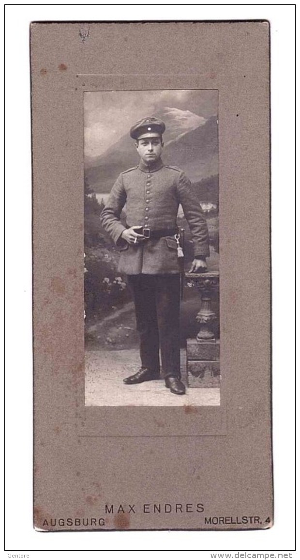 ORIGINAL PHOTO   Of German Soldier  From Max Endres Augsburg - 1914-18