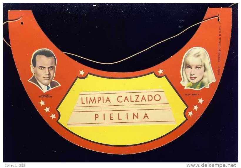 Visiere Avec Photos D´acteurs De Cinema: HARRY BELAFONTE Et MAY BRITT (Ref.87316) - Cinemania