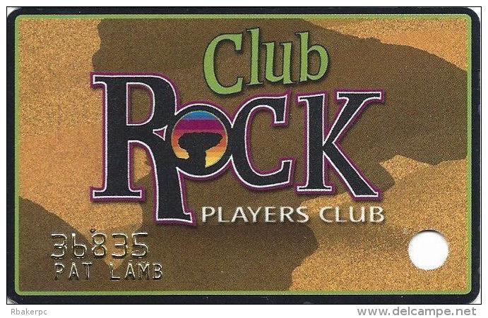 Camel Rock Casino Tesuque NM Slot Card - Casino Cards