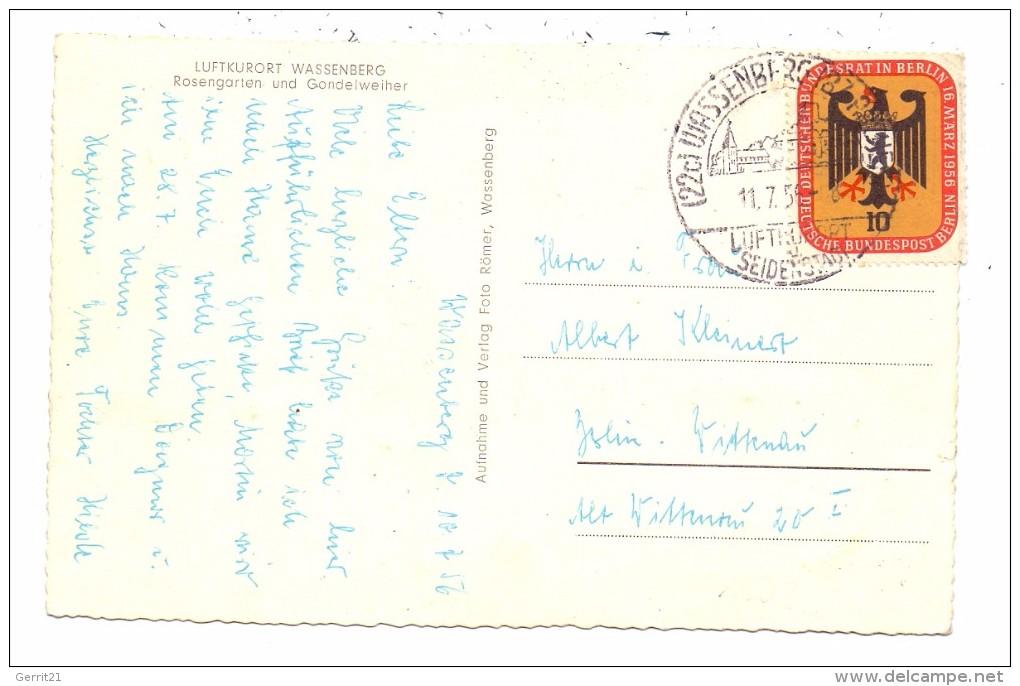 5143 WASSENBERG, Rosengarten & Gondelweiher, 1956 - Heinsberg