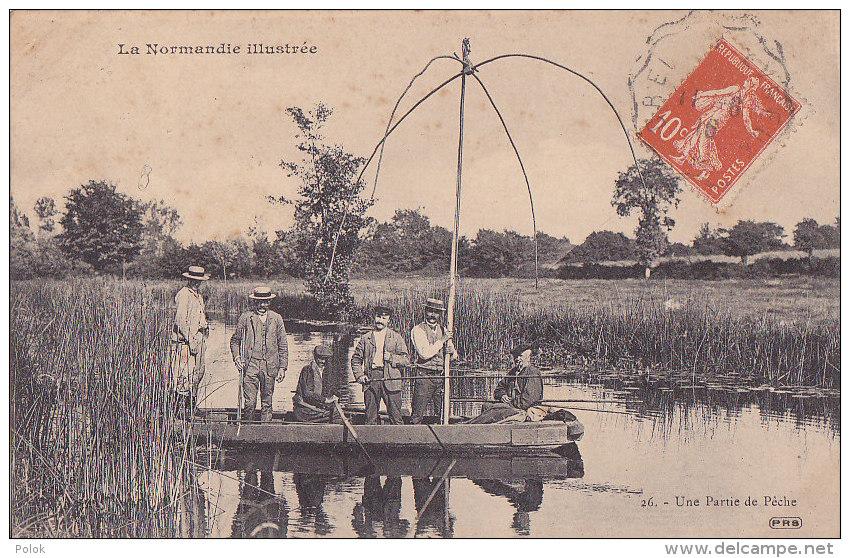 Bc - Cpa La Normandie - Une Partie De Pêche - France