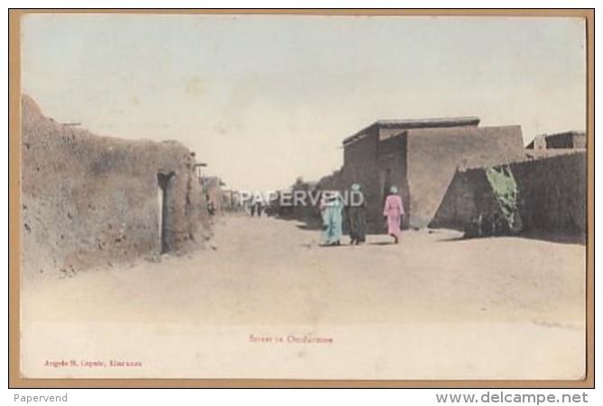 Sudan   OMDURMAN Street Scene  Su93 - Soudan