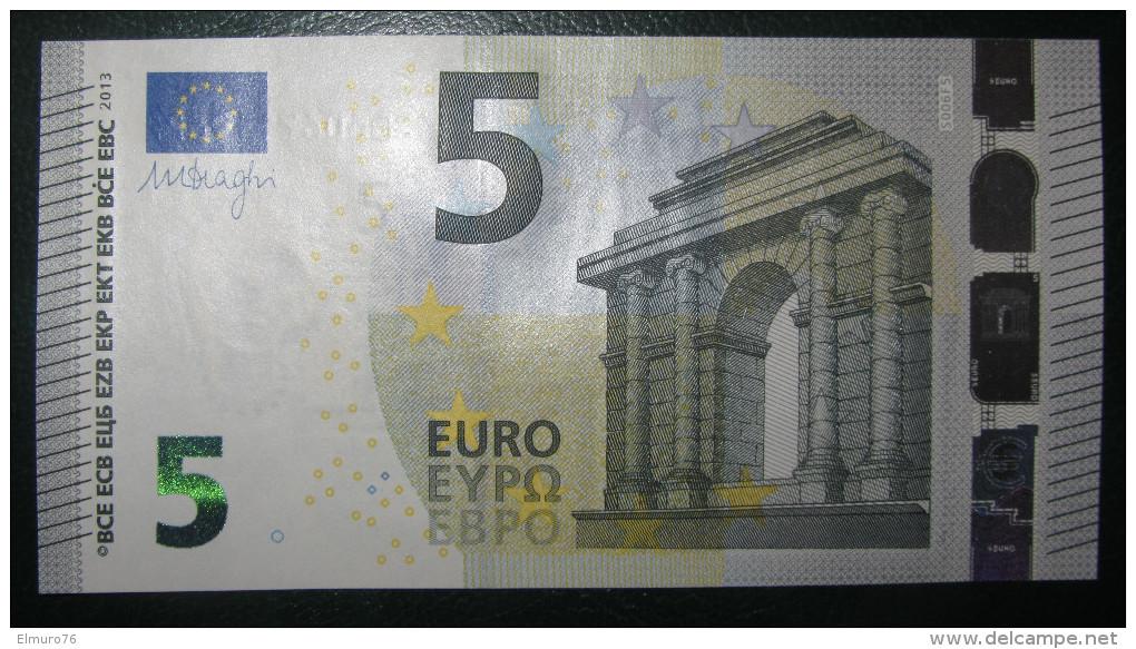 5 EURO S006B2 DRAGHI ITALY ITALIA SERIE SE Perfect UNC - EURO