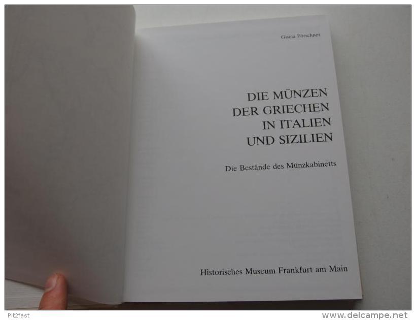 Mainzer Münzen , 1982 , Die Münzen Der Griechen In Italien Und Sizilien , 2 Bände - Numismatik / Münzkunde , Mainz !!! - [ 1] …-1871: Altdeutschland