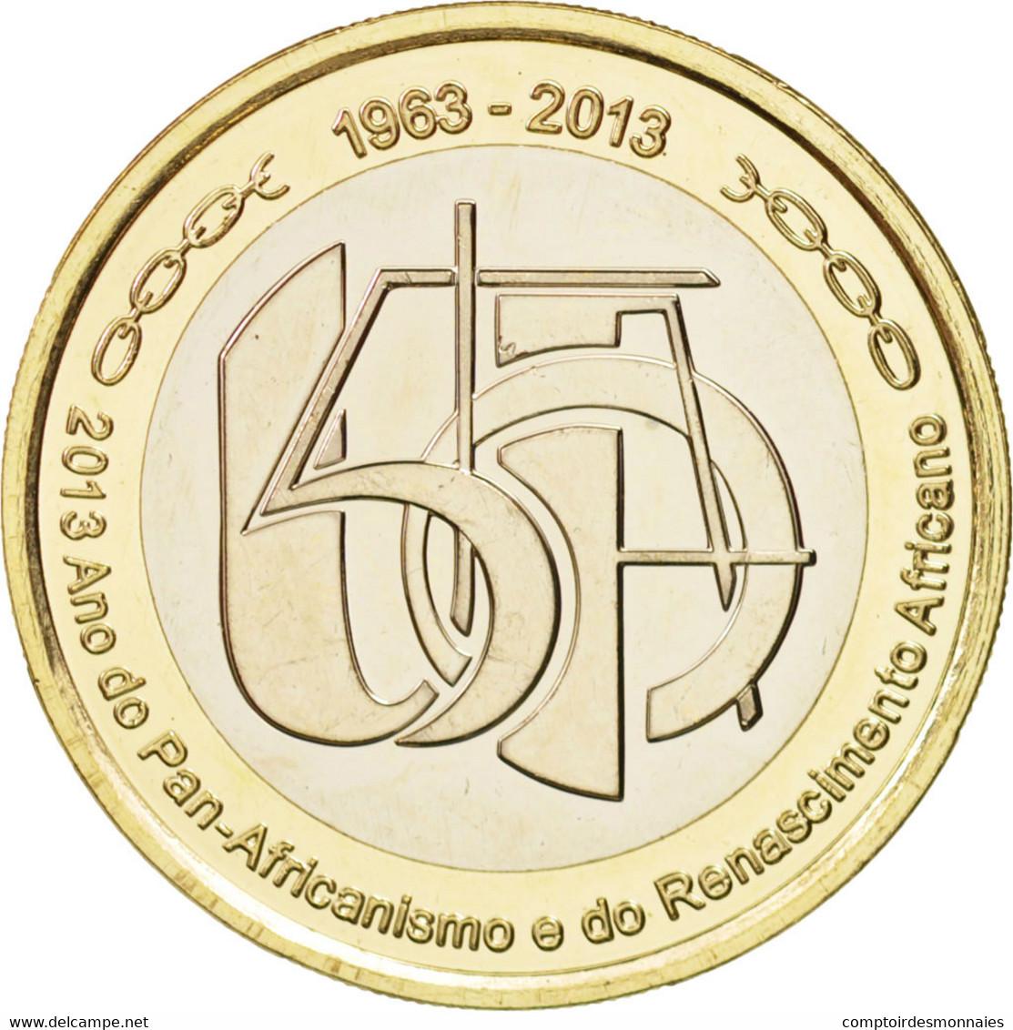 Cape Verde, 250 Escudos, 2013, SPL, Bi-Metallic - Cap Vert
