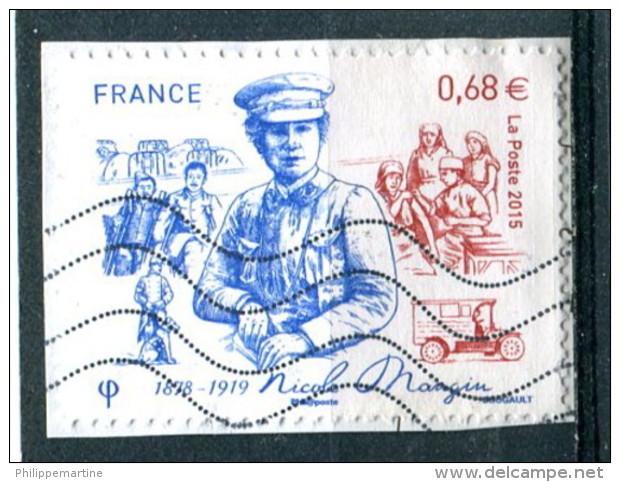 France 2015 - YT 4936 (o) Sur Fragment - Francia