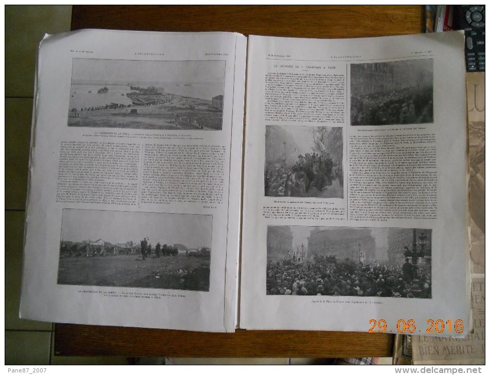 L ILLUSTRATION  1918  N CLEMENCEAU FOCH 453 A 485     NOMBREUX DOCUMENTS     VICTOIRE - Livres, BD, Revues