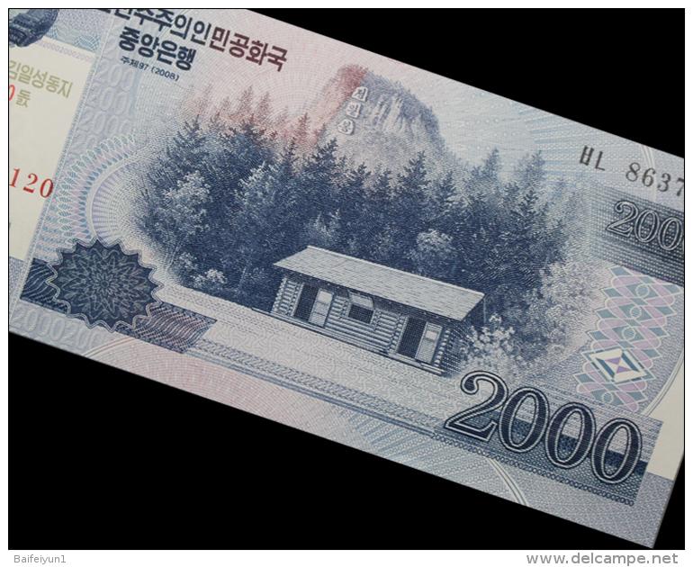 2012 North Korea  Banknotes 100 Aniversary Of  Kim Ll-sung - Korea, North