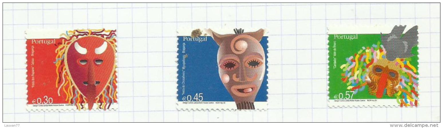 Portugal N°2920 à 2922 Neufs Avec Charnière* (sous Faciale) - Unused Stamps