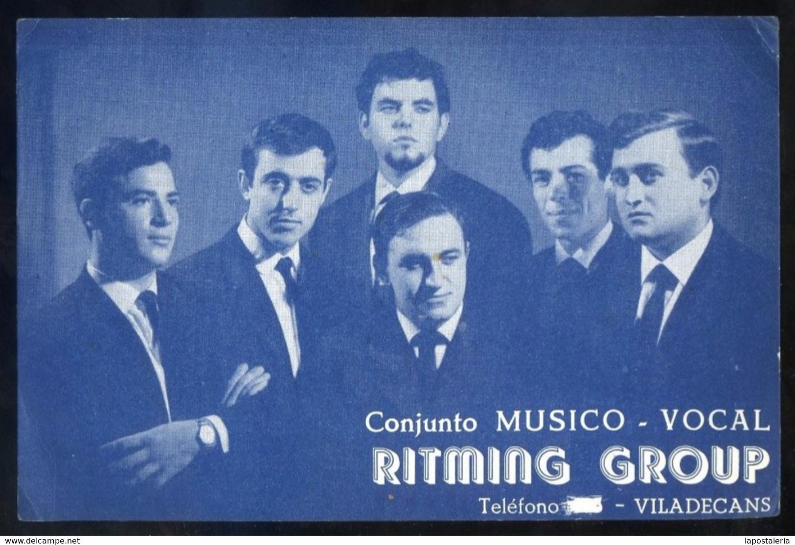 Viladecans *Ritming Group. Conjunto Músico-Vocal* Meds: 110 X 168 Mms. - Sin Clasificación