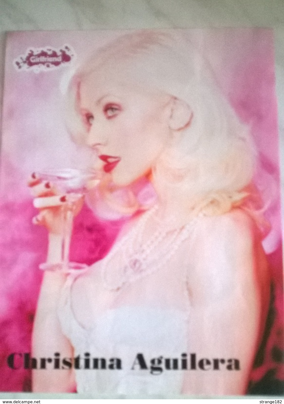 POSTER CHRISTINA AGUILERA - Manifesti & Poster