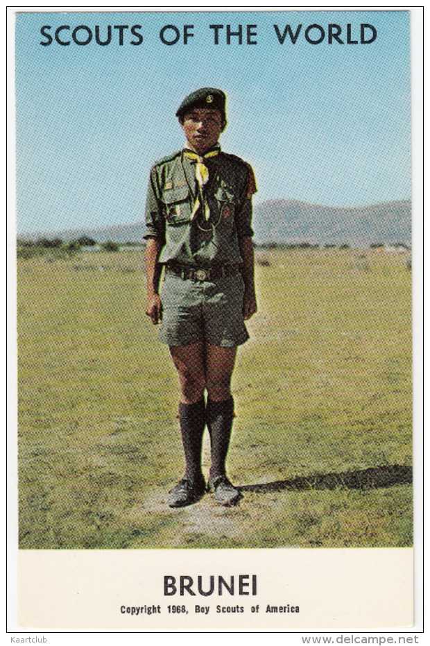 BRUNEI  - BOY-SCOUT - (Boy Scouts Of America, 1968) - Brunei