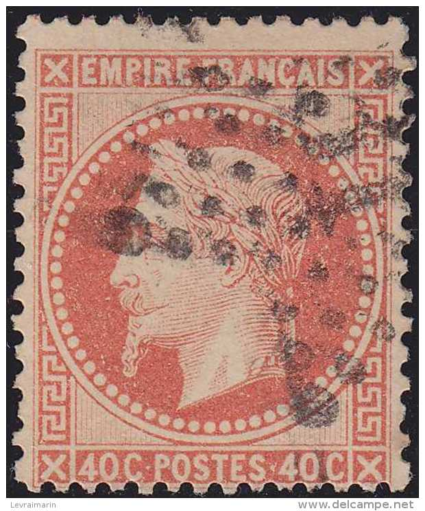 N°31 étoile 31, L'une Des étoiles Les Plus Rares, TB. - 1863-1870 Napoléon III Lauré