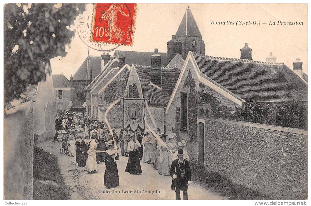 78-BONNELLES- LA PROCESSION - Autres Communes