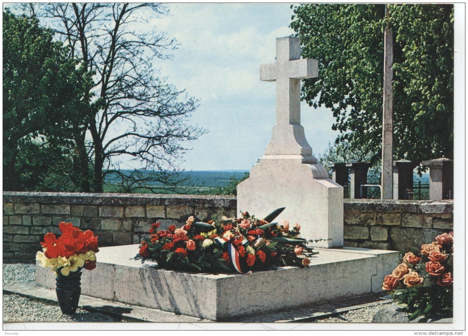 Colombey Les Deux églises : La Sépulture Du Général De Gaulle (n°9 Chapel) - Colombey Les Deux Eglises